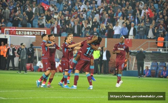 Trabzonspor, zirveye yerleşti