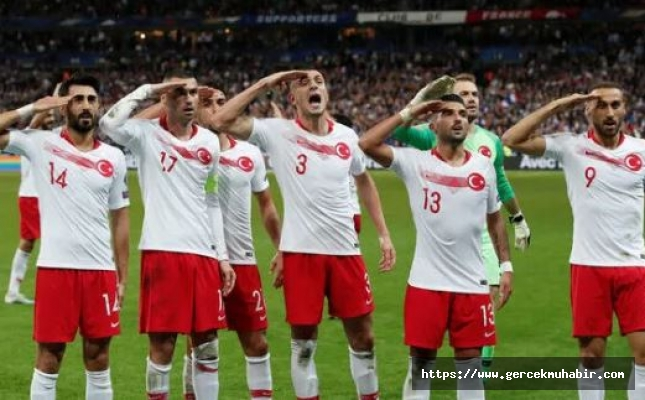 UEFA, A Milli Takım'ın 'asker selamı' için soruşturma başlattı
