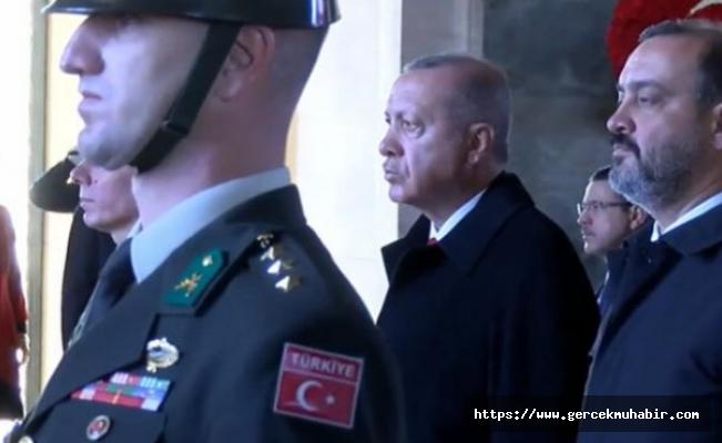 Erdoğan Anıtkabir Özel Defteri'ne ne yazdı?