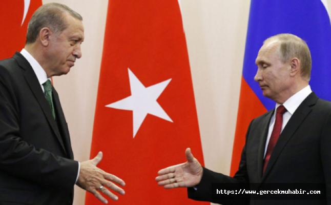 Erdoğan, Rusya Devlet Başkanı Putin ile görüştü!