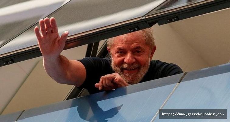 Eski Brezilya Devlet Başkanı Lula serbest bırakıldı