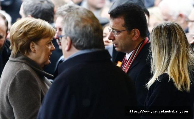 İmamoğlu Merkel ile arasında geçen diyaloğu anlattı