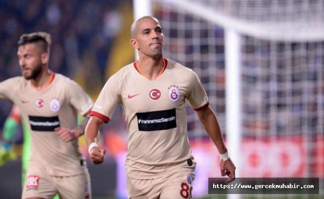 Sofiane Feghouli, Galatasaray'a hayat verdi