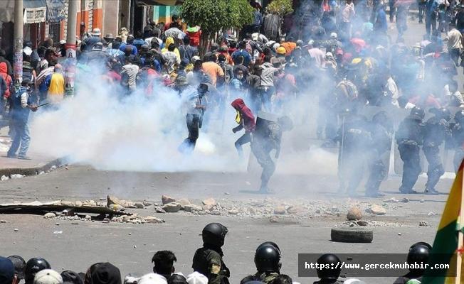 Bolivya'da yaşanan protestolarda onlarca insan hayatını kaybetti!