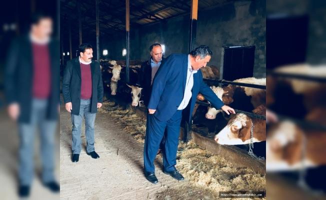 Gürer, Erzincan'da çiftçi ve besicilerle görüştü!