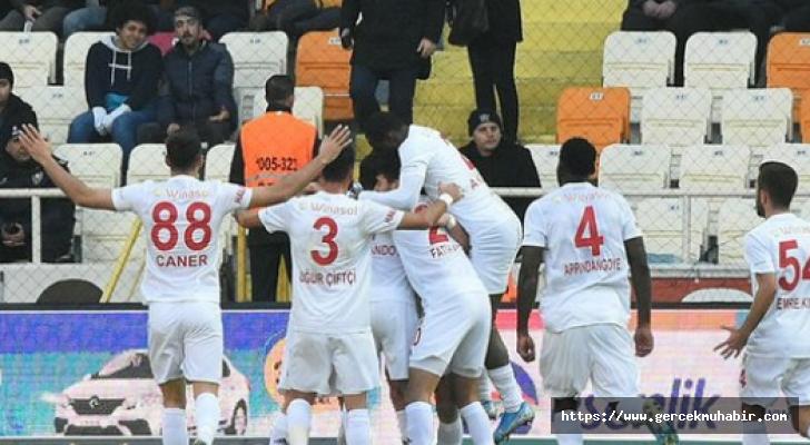 Lider Sivasspor Malatya'dan kayıpsız dönüyor