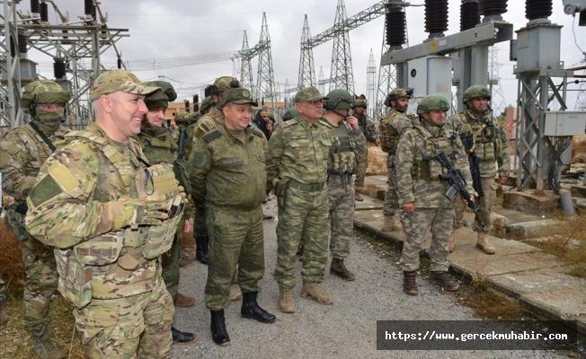 MSB: ''Tel Abyad ve Rasulayn'ın elektrik sorunu çözülüyor''