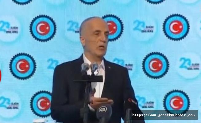 Türk-İş: 2578 TL'nin altına masaya oturmayız