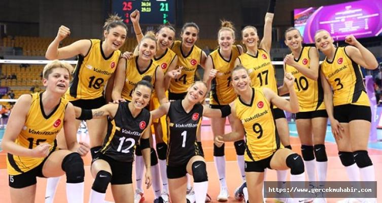 Vakıfbank Voleybol Takımı dünya üçüncüsü oldu