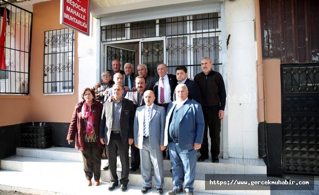 Akay'dan Bölge Muhtarlar Toplantısı