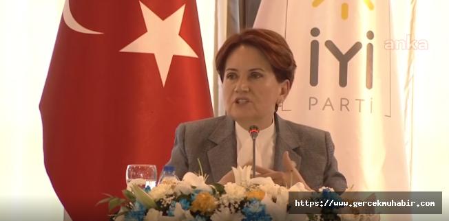 Akşener: Erdoğan'ın parlamenter sisteme geçeceğini düşünüyorum