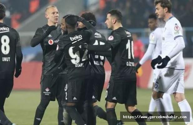 Beşiktaş Kupada Kayıp