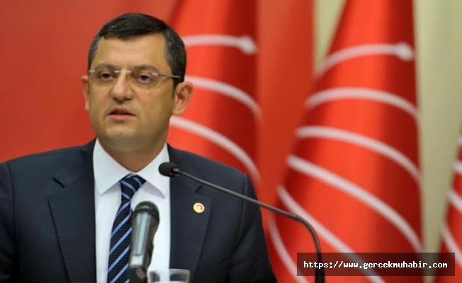 CHP'li Özel: ''Varlık fonu raporu ortada  yok''
