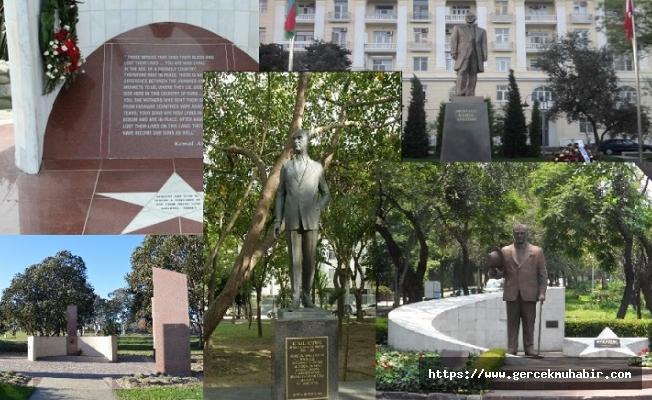 Dünyadaki Atatürk anıtları