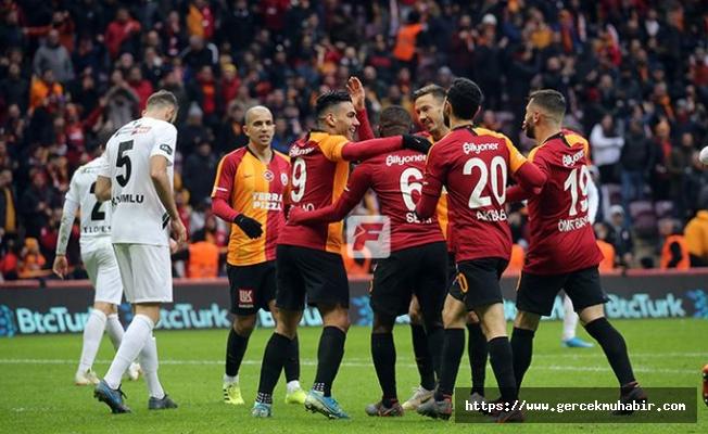 Galatasaray - Denizlispor maç sonucu: 2 - 1