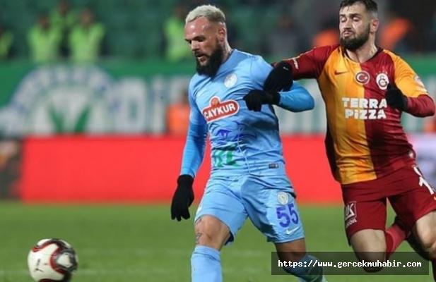 Galatasaray kupada Rizespor'u ağırlıyor