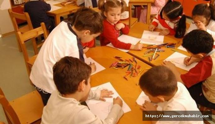 Okul Öncesi Sınıflarda Ortalama 65 Öğrenci Eğitim Alıyor