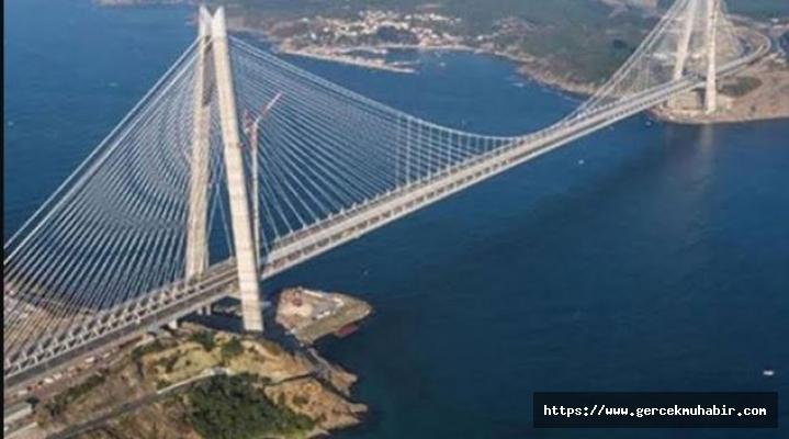 Sultan Selim Köprüsü'ne 1 milyar 600 milyon lira garanti bedeli ödenecek
