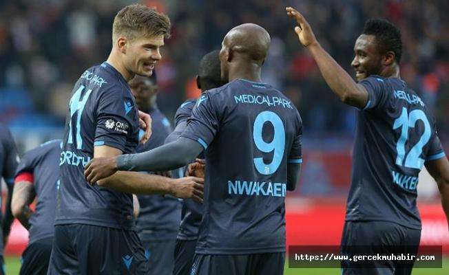 Trabzonspor'dan Kasımpaşa'ya gol yağmuru