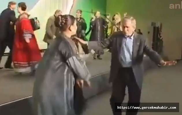 Vladimir Putin ve George W. Bush'tan Çok Konuşulacak Dans