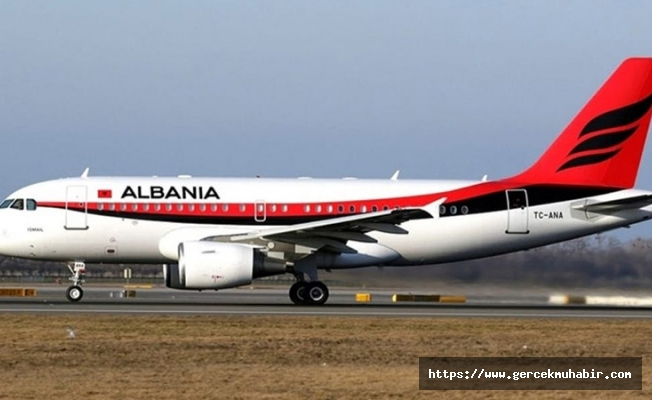 ANA uçağı Arnavutluk'a verildi