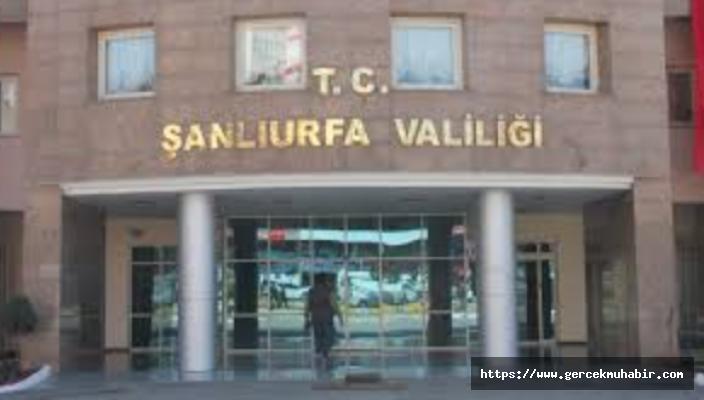 Şanlıurfa'da Açık Alan Etkinliklerine Yasak