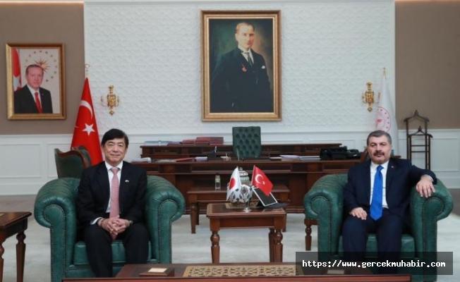 Koca ile Japon Büyükelçisi Buluştu