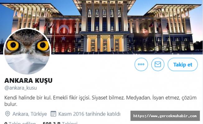 Ankara Kuşu'nun kimliği belli oldu, gözaltına alındı!