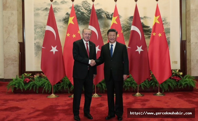 Cumhurbaşkanı Erdoğan,Çin Devlet Başkanı Şi Cinping İle Görüştü