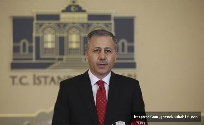 İstanbul Valisi Ali Yerlikaya'dan Koronavirüs vakalarına ilişkin açıklama!