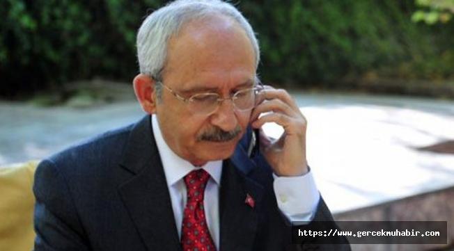 Kemal  Kılıçdaroğlu'ndan Feriha Öz'ün Ailesine Taziye Telefonu!