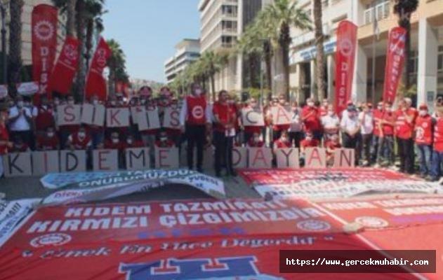 Disk Başkanı Çerkezoğlu; Kıdem Tazminatı Kırmızı Çizgimizdir