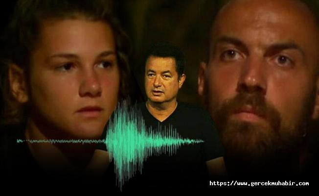 Survivor'da Sercan ve Nisa ses kaydı ile gündemde!