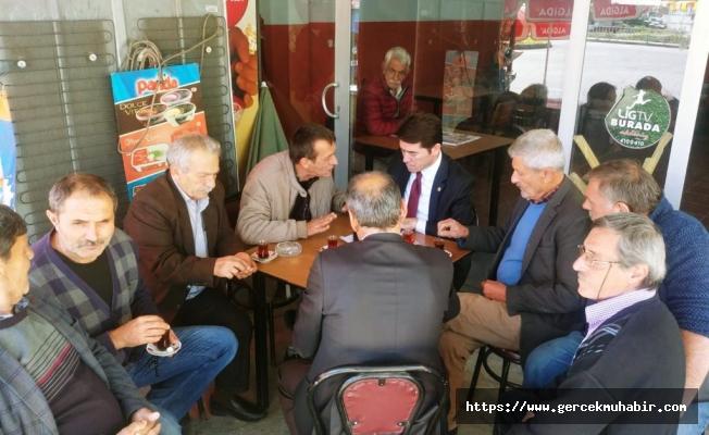 CHP'li Kaya, Kahvehane Sahiplerinin Mağduriyetlerini TBMM'ye Taşıdı
