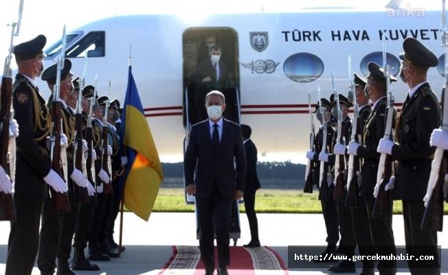 Hulusi Akar, Ukrayna'da Askeri Törenle Karşılandı