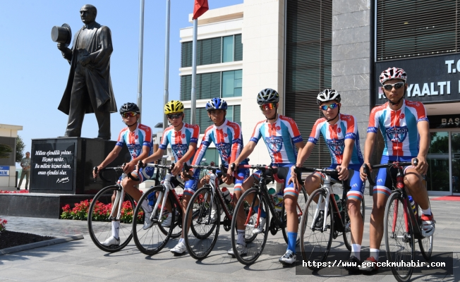 Konyaaltı Bisiklet Takımı, yeni şampiyonluk peşinde