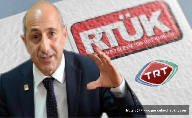 Öztunç, TRT VE RTÜK'Ü Mercek Altına Aldı!