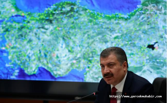 Sağlık Bakanı Fahrettin Koca: Bugün en az bin kişi koronavirüse yakalanacak