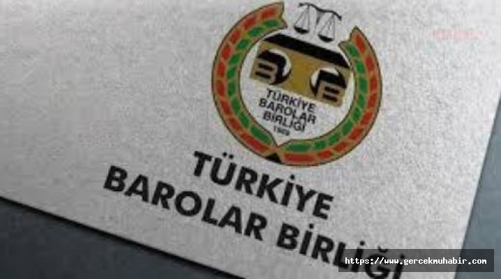 TBB: Hatay Barosu Başkanı Av. Ekrem Dönmez'in Gözaltına Alınmasını Kınıyoruz