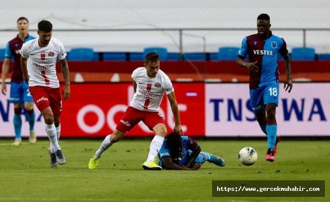 Trabzonspor Liderlik Yarışında Ağır Yara Aldı!