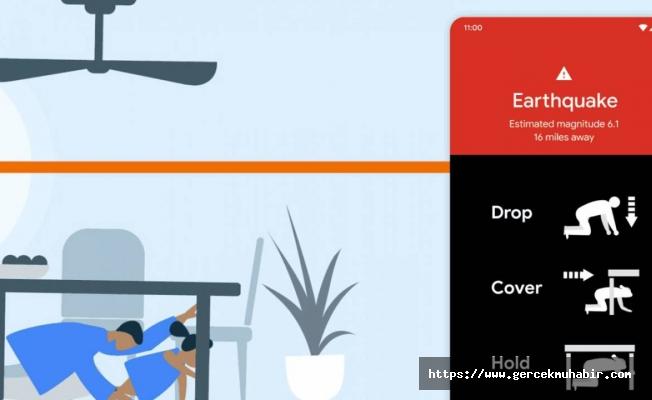 Google: Android telefonlar depremi ölçebilecek