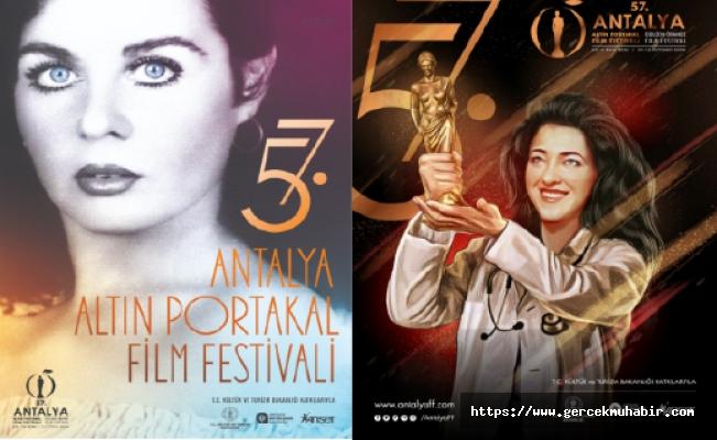 57. Antalya Altın Film Festivali İki Afişle İzleyici Karşısına Çıkacak