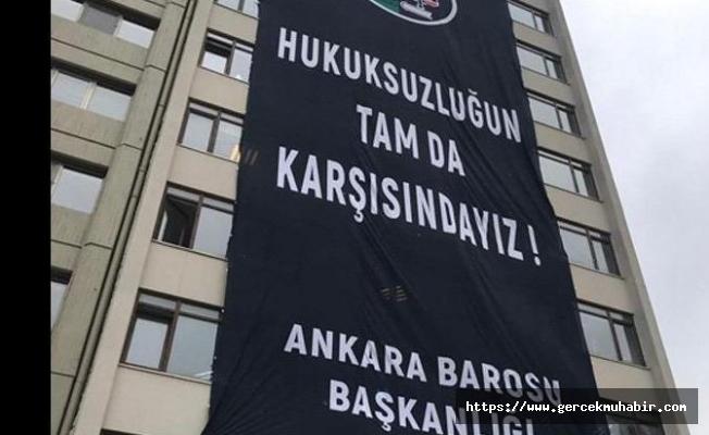 Ankara Barosu'ndan Avukatlara Yönelik Operasyona Tepki!