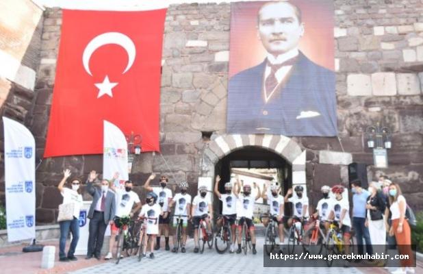 Ankara Kalesi Bayrağı Polatlı'da