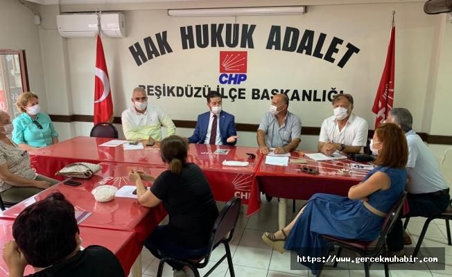 """CHP'li Kaya: """"Esnaflarımız Baba Desteği Bekliyor"""""""