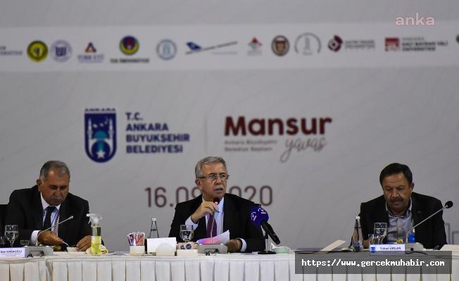 Mansur Yavaş, Ankara'daki Üniversitelerin Rektörleriyle Buluştu