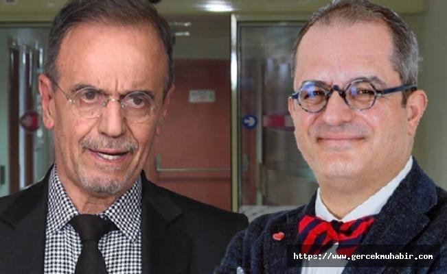 Mehmet Ceyhan ve Mehmet Çilingiroğlu arasında maske tartışması!