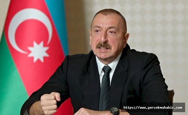 Aliyev: Rusya Erivan'ı ücretsiz silahlandırıyor
