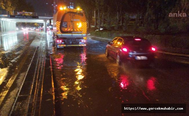 Ankara Büyükşehir Belediyesi: Sel ve su baskınlarına karşı 7/24 nöbetteyiz