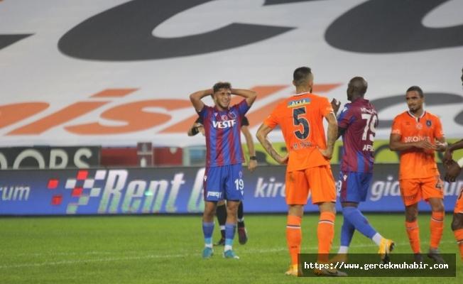 Başakşehir'den Trabzon'da ilk galibiyet